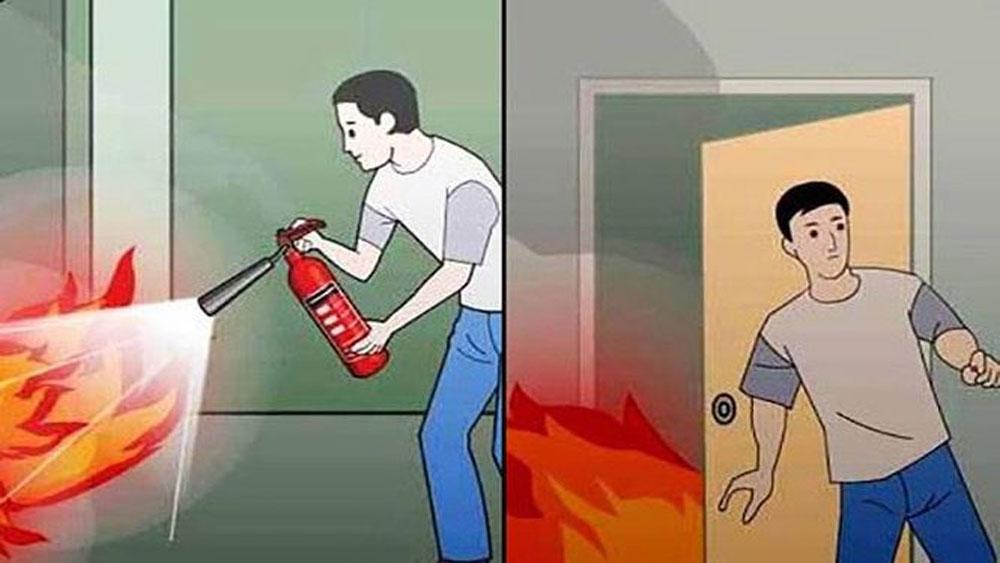 9 kỹ năng thoát khỏi đám cháy ở chung cư bạn nên biết